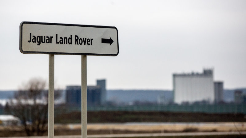 Jaguar Land Rover opens new $1.6 billion factory in Slovakia