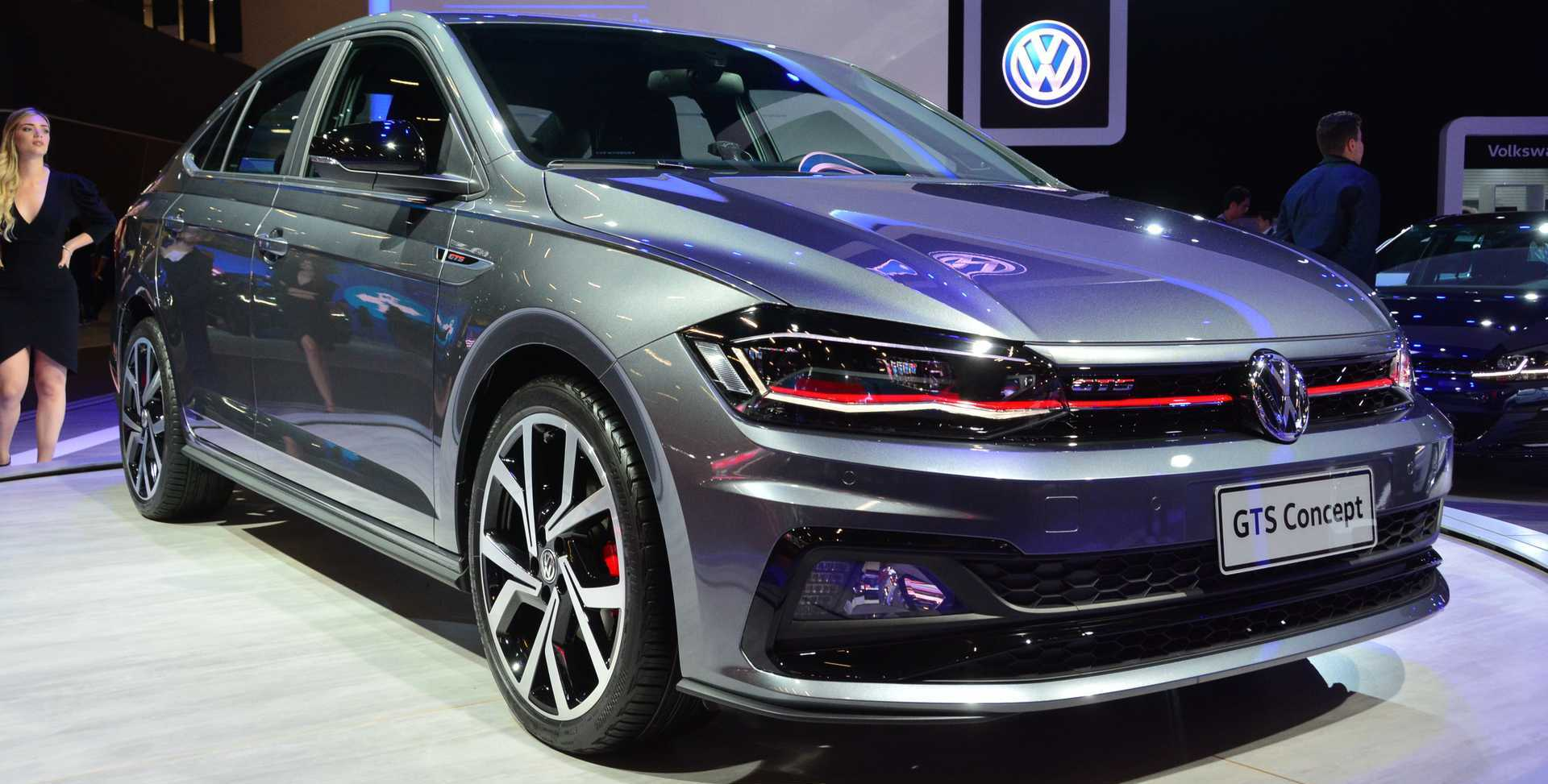 VW Virtus GTS Concept Revealed As Polo Sedan GTI, Sort Of
