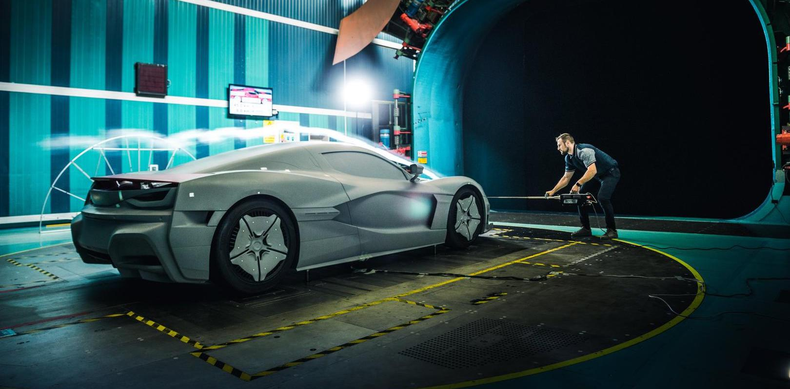 Rimac goes in-depth on the C_Two's ultra-tech aero testing
