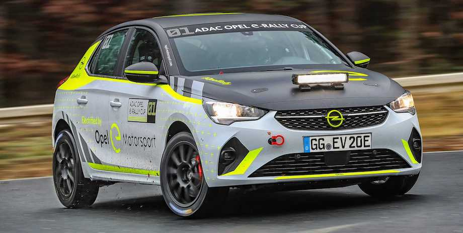 Opel Begins Testing Of Its Corsa-e Rally Electric Rally Car