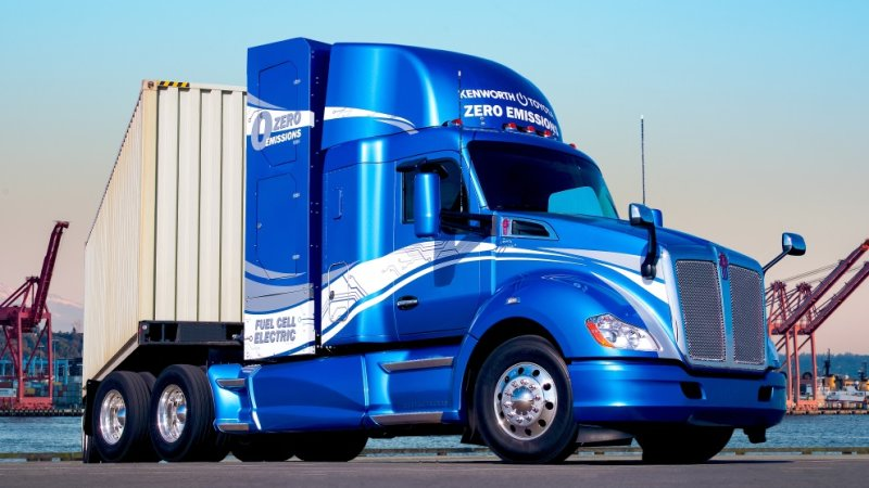 Kenworth and Toyota partner on fuel cell heavy-duty trucks