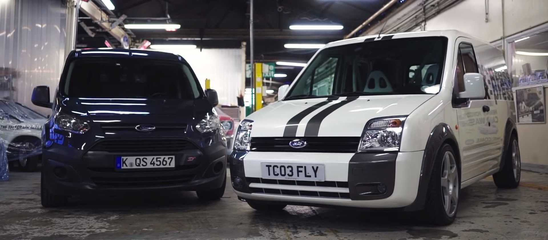 Ford Stuffed A Focus RS Engine Into A Transit Connect Van