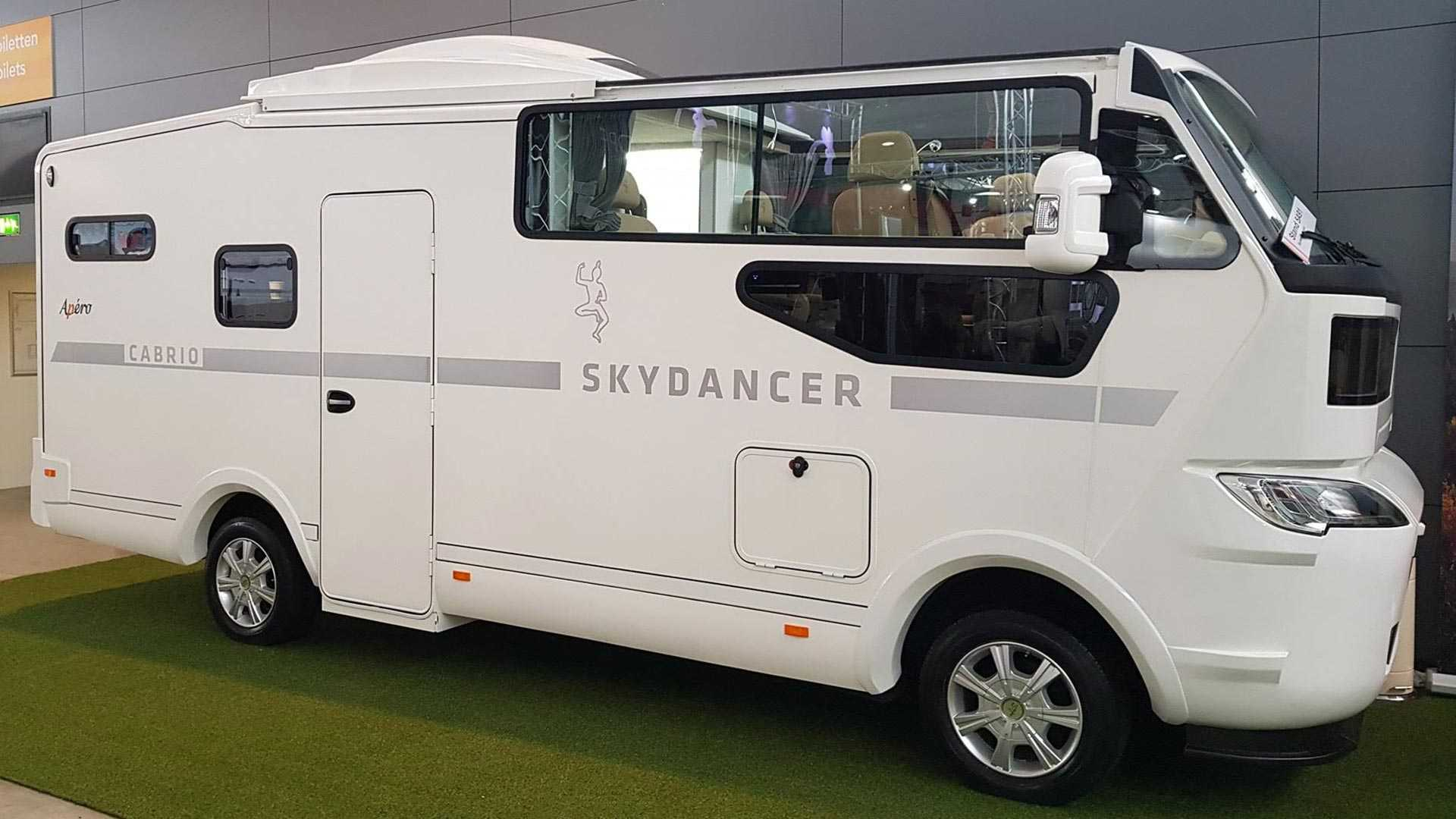 German Company Unveils World's First RV With A Convertible Top