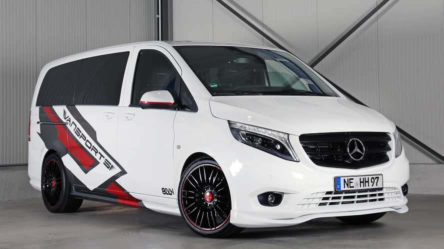 Vansports Mercedes Vito Proves Vans Can Be Cool And Functional