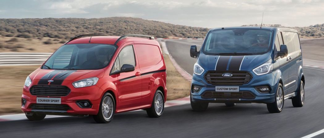 Ford Transit Custom Sport earns its stripes with a more powerful engine