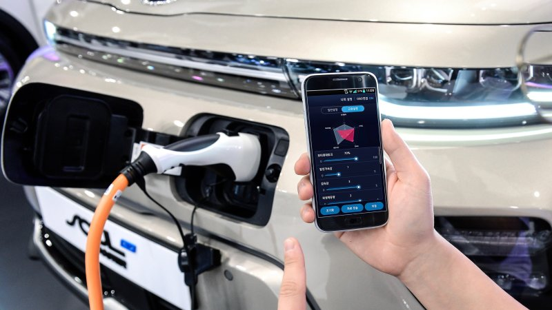 Hyundai phone app adjusts EV performance settings