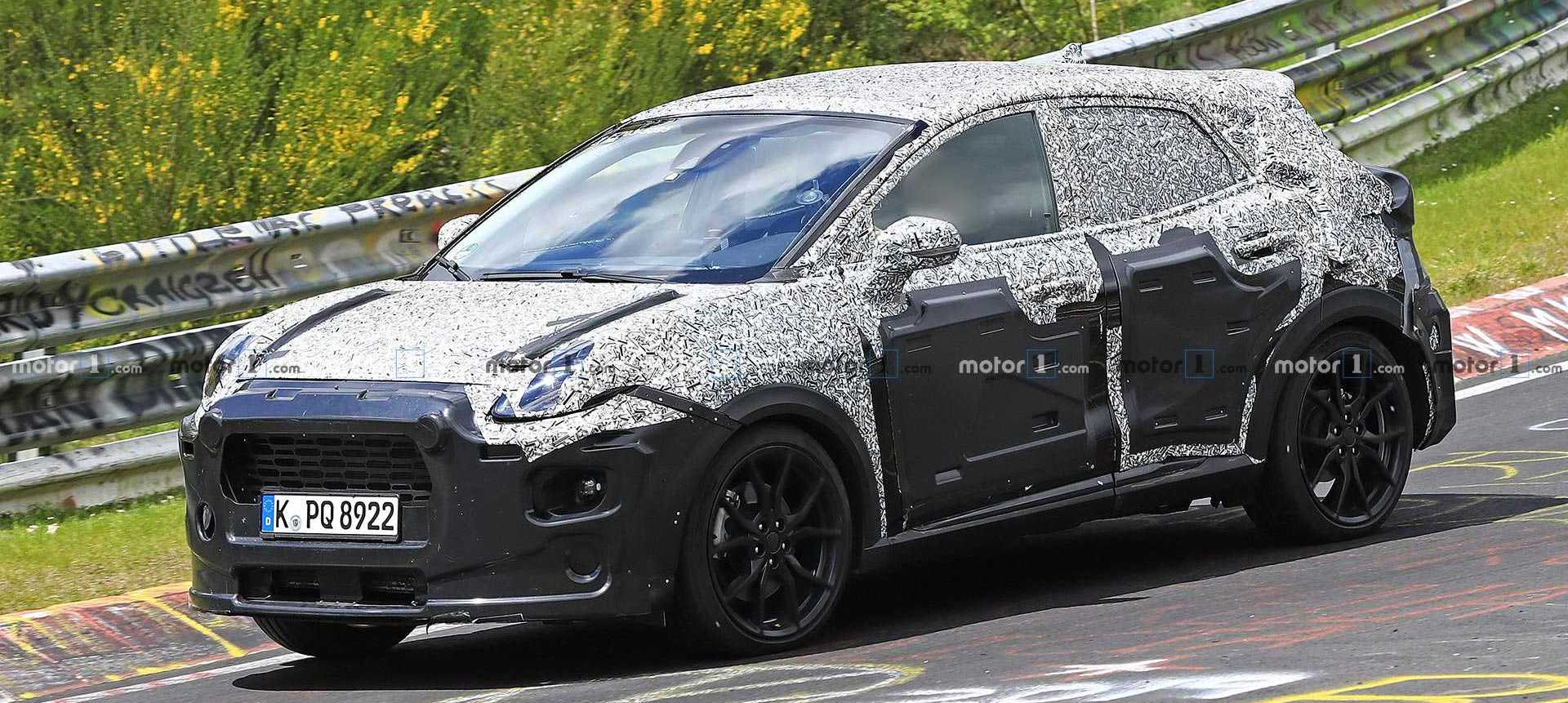 Sporty Ford Puma ST Spied For The First Time