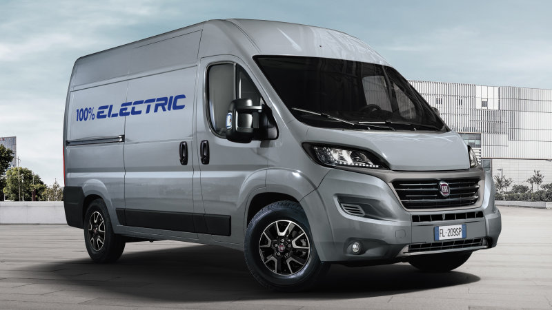 2020 Fiat Ducato Electric is the Ram ProMaster's EV cousin