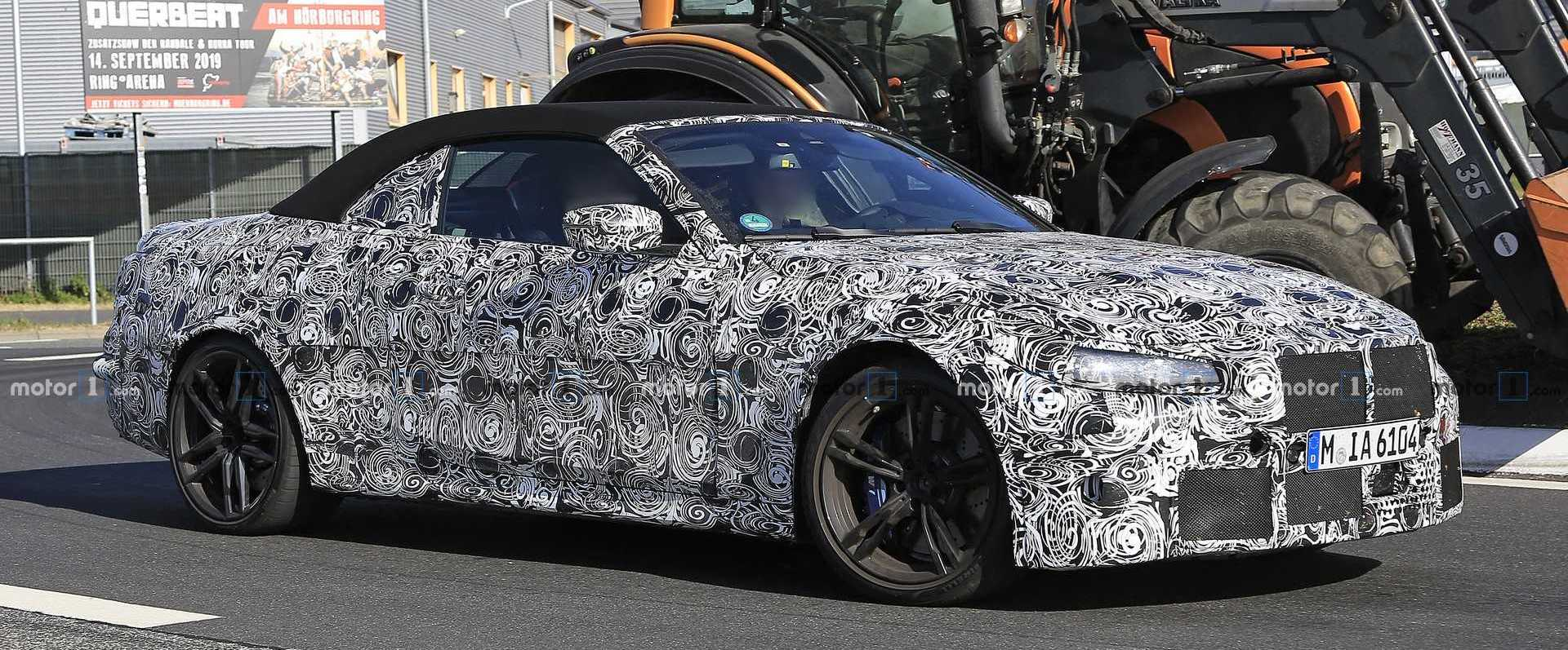 BMW M4 Cabriolet Spied For First Time