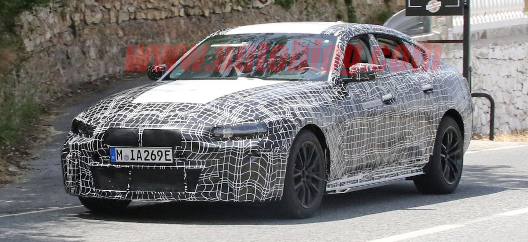 BMW i4 Poses For The Camera In New Spy Photos