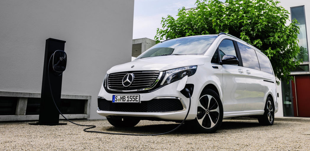 Mercedes EQV Debuts As World's First All-Electric Premium Van