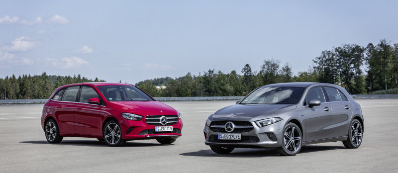 Mercedes-Benz A-Class and B-Class get plug-in hybrid option in Europe