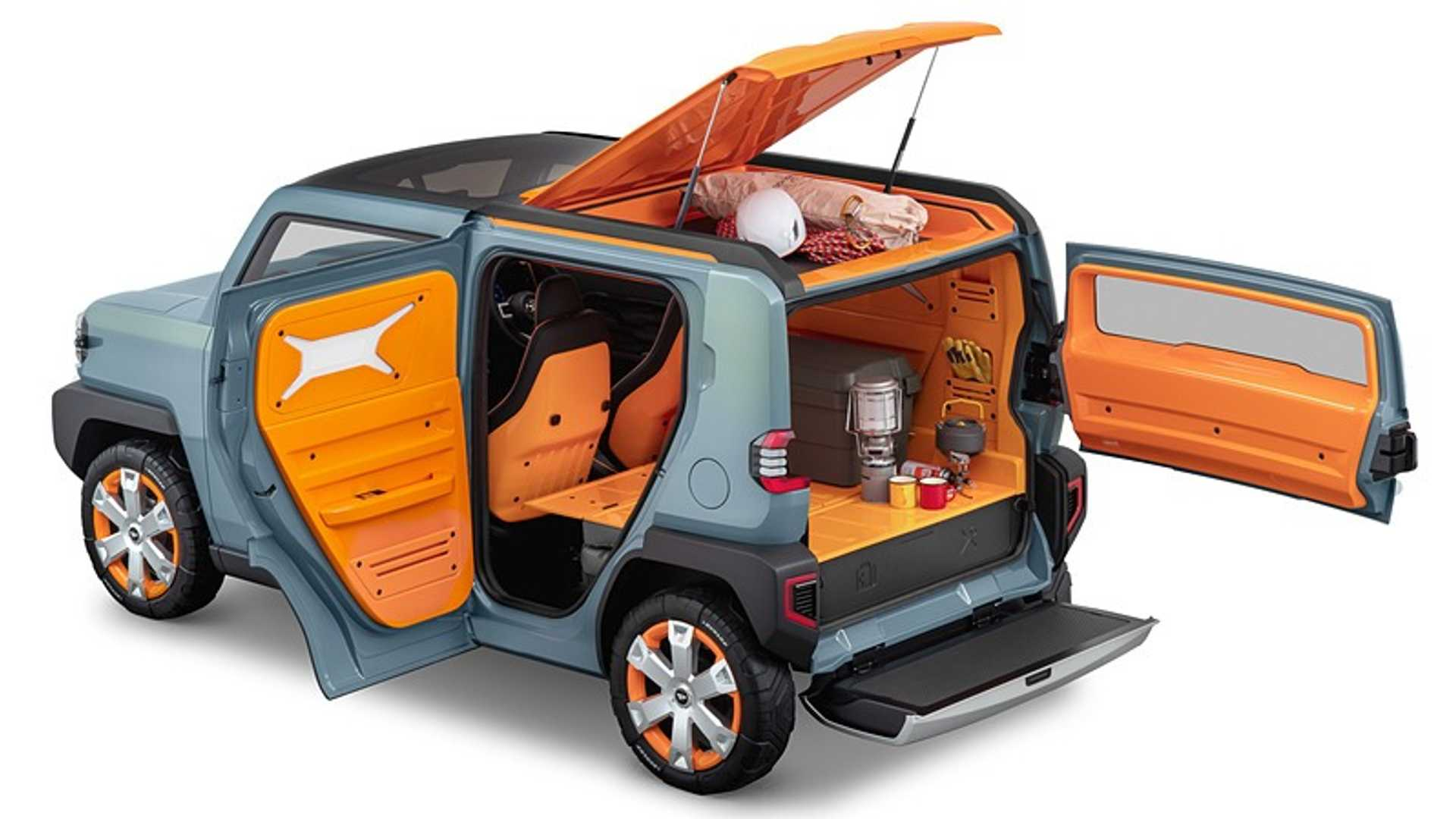 Daihatsu Debuts WakuWaku Tiny Crossover And Other Quirky Concepts