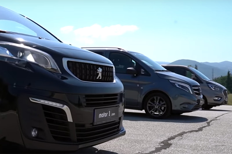 We Drag Raced Three European Vans Because Why Not