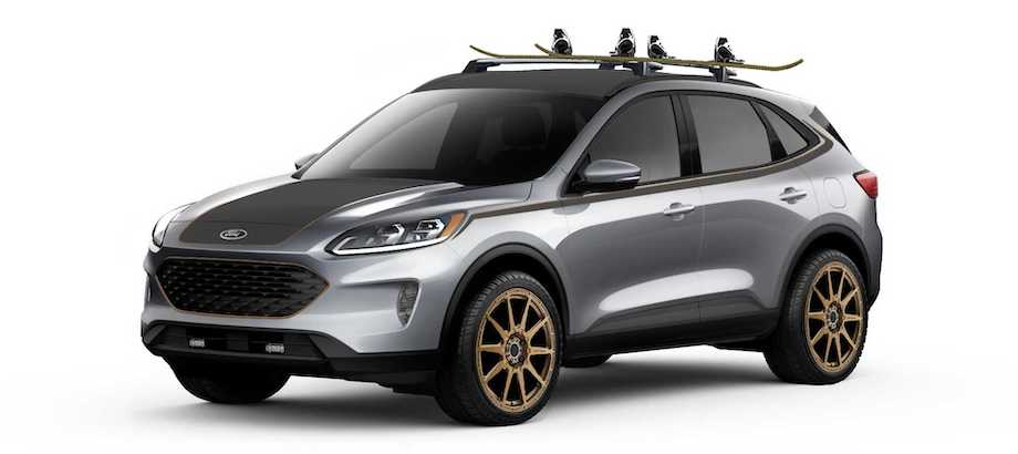 Ford Bringing Custom Escape, Explorer, and Expedition Models To SEMA
