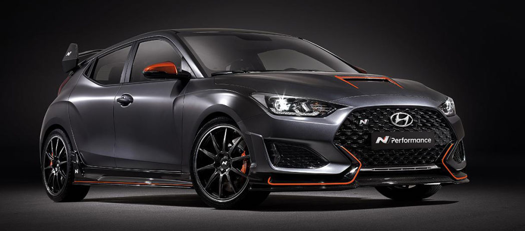 2020 Hyundai Veloster N Performance Concept gets an aftermarket makeover