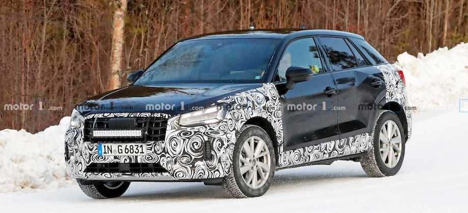 Audi Q2 Facelift Spied For The First Time