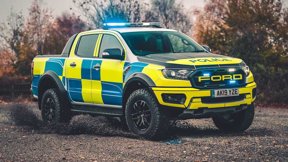 Ford Ranger Raptor and Focus Estate ST set to checker U.K. police forces