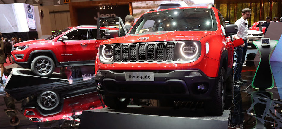 Jeep preparing a subcompact model below the Renegade for Europe