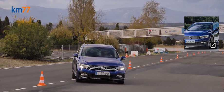 See Euro-Spec VW Passat Variant Spectacularly Fail Moose Test