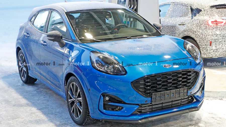 Ford Puma ST Spied Without Camouflage For The First Time