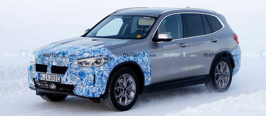 BMW iX3 Spied Looking Virtually Ready For Production