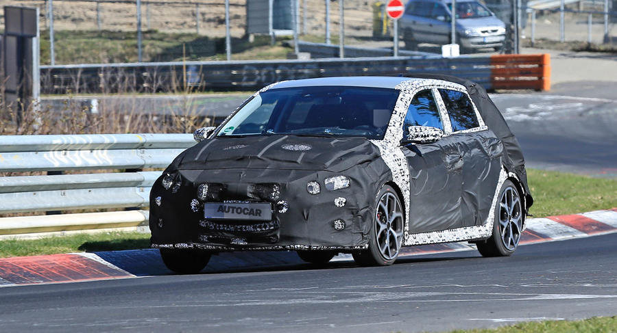 Hyundai i20 N Spied Keeping Covered During Development