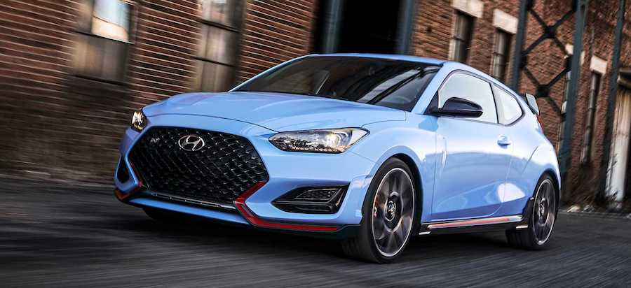 2020 Hyundai Veloster N Debuts With New 8-Speed Wet DCT, More Torque