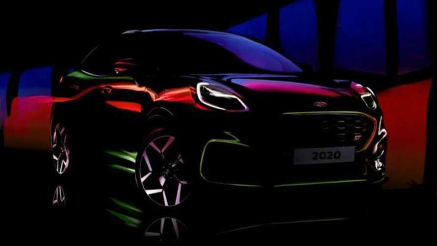 Ford Puma ST Teased In Short, Colorful Video