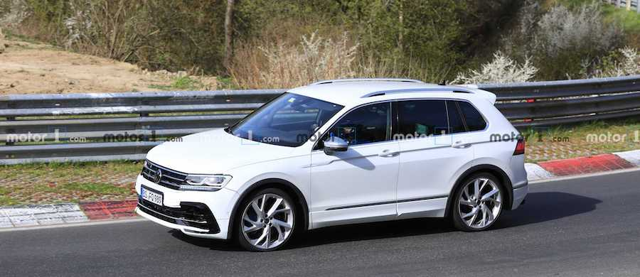2021 VW Tiguan R And Arteon R Spied Sharing The Nürburgring
