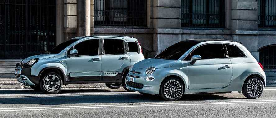 "Fiat 500 and Panda Hybrids Get Germ-Killing ""D-Fence"" Package"