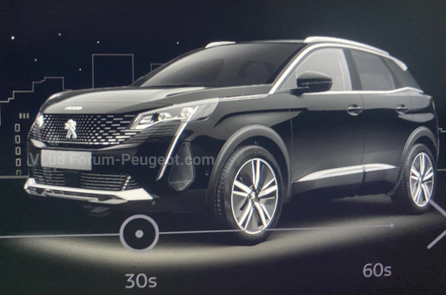 2021 Peugeot 3008 facelift leaks online in detail