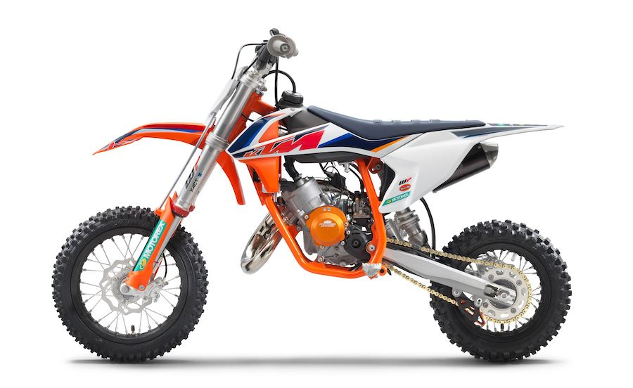2021 KTM 50 SX Factory Edition Is Not for the Weak of Heart Parents