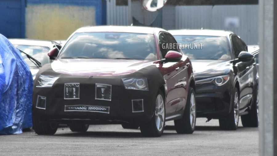 Maserati's Smaller SUV Spied For The First Time With Stelvio Body