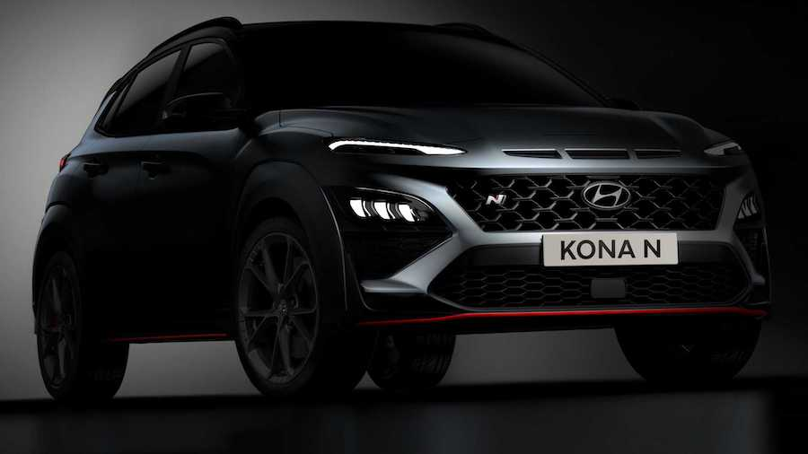 2022 Hyundai Kona N All But Revealed In New Teaser Images