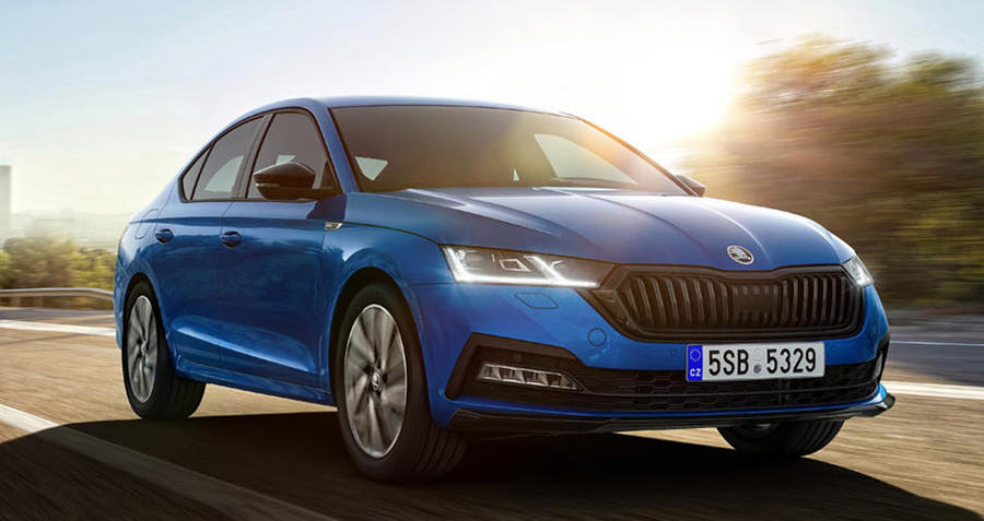 Skoda Octavia gains vRS-style Sportline trim for 2021