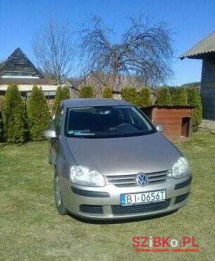 2004 Volkswagen Golf в Białystok, Польща